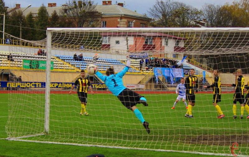 Хмельницьке Поділля в 18 матчах забило 15 голів
