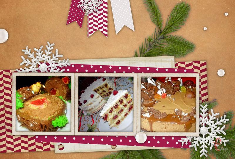 Гарний і смачний торт – кращий подарунок на Новий рік, а також окраса новорічного столу.