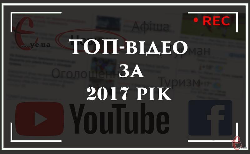 Рейтинг 2017 року базується на переглядах, як в Youtube так і Facebook