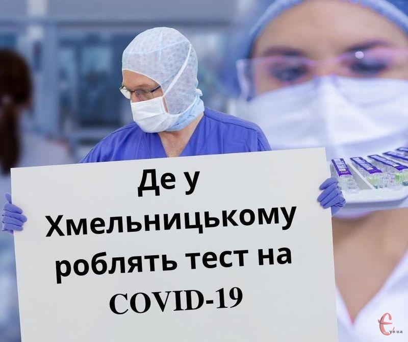 Декілька комунальних закладів роблять тести на коронавірус