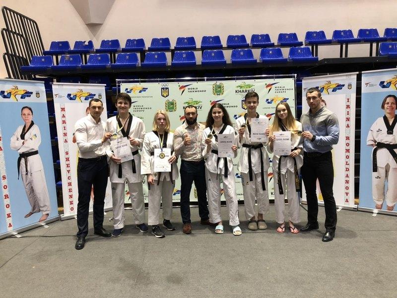 Хмельничани успішно виступил ина чемпіонаті України з тхеквондо