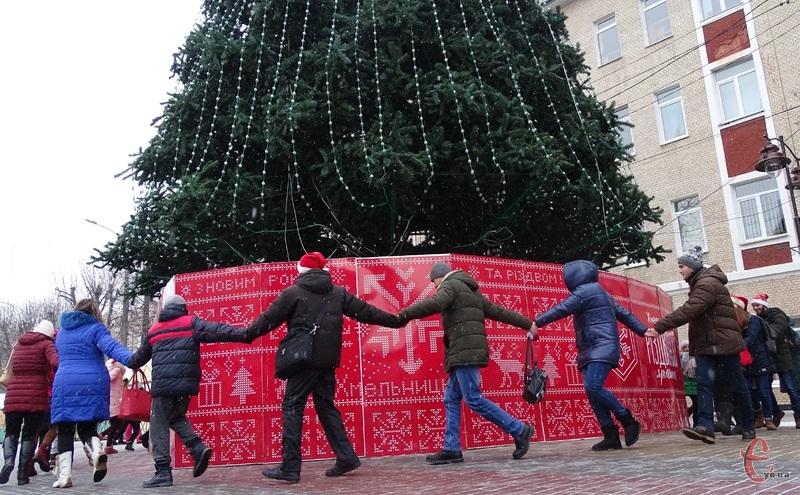 Новорічно-різдвяні святкування у Хмельницькому тривають