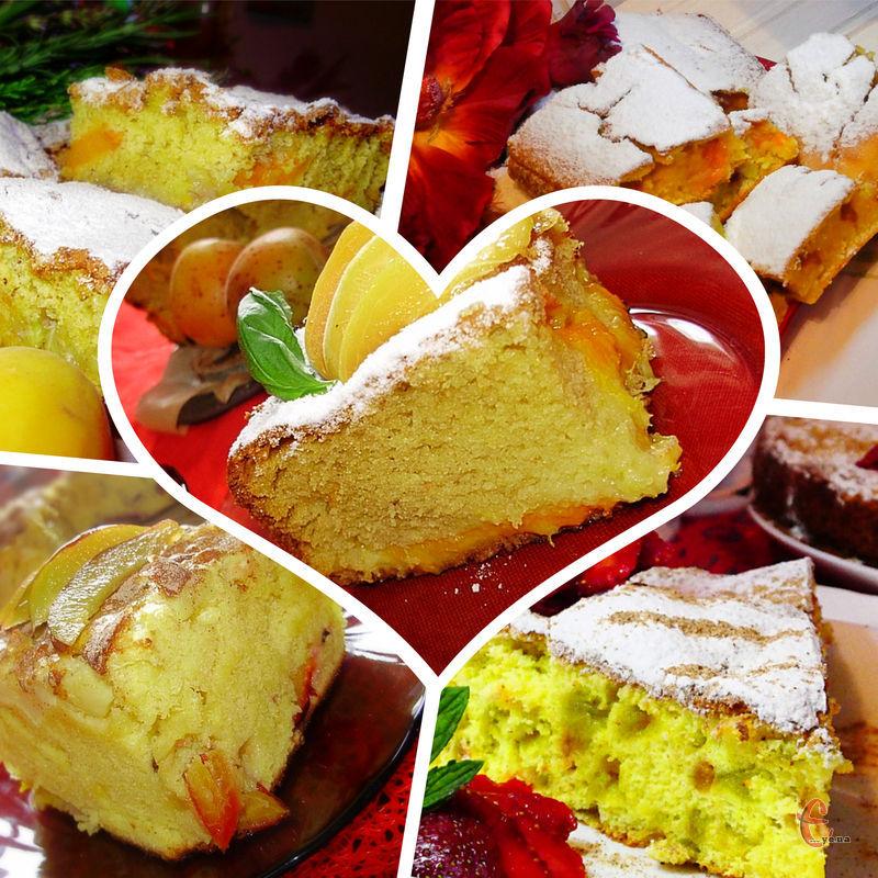 Цей пиріг – найпростіший варіант фруктової випічки. На його приготування потрібно зовсім мало часу та мінімум продуктів.
