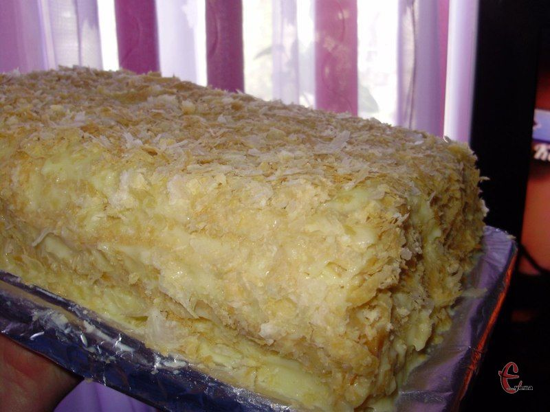Для всіх солодкоїжок ще одна варіація улюбленого всіма тортика.