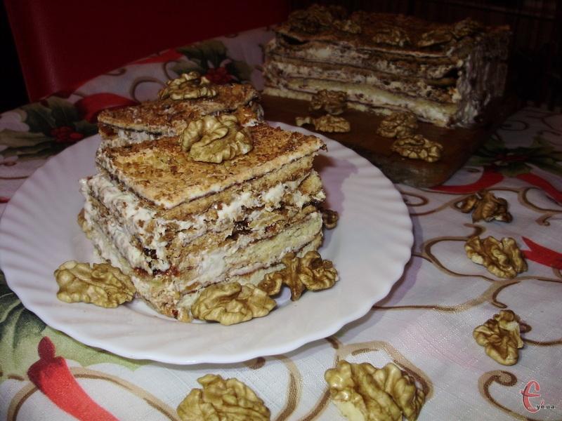 Традиційний десерт польської кухні, який вже став досить популярним і на Західній Україні.