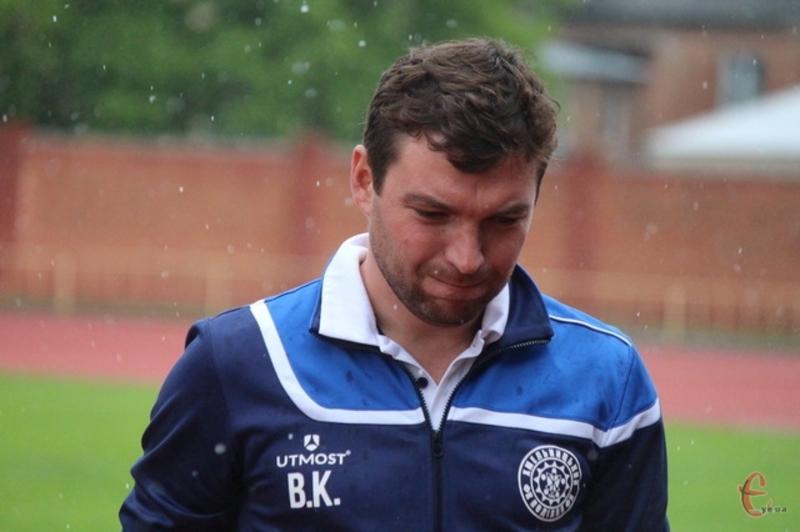 Віталій Костишин залишився незодоволеним не тільки результатом у Калуші, а й грою своєї команди, яка програла 5-2