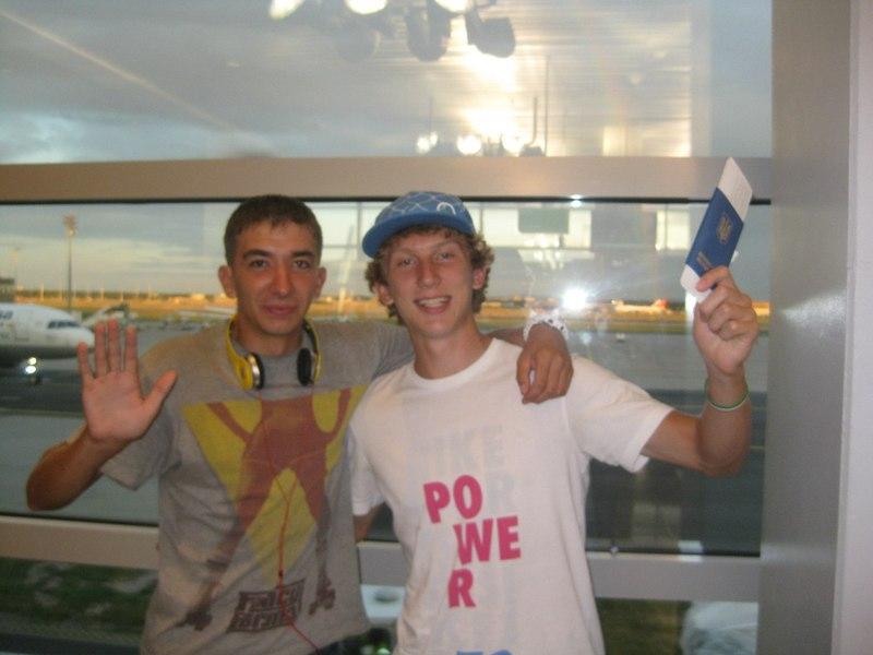 Дмитро Янчук (ліворуч) та Павло Алтухов у Португалії захищатимуть чемсть нашої країни на чемпіонаті світу серед молоді з веслування