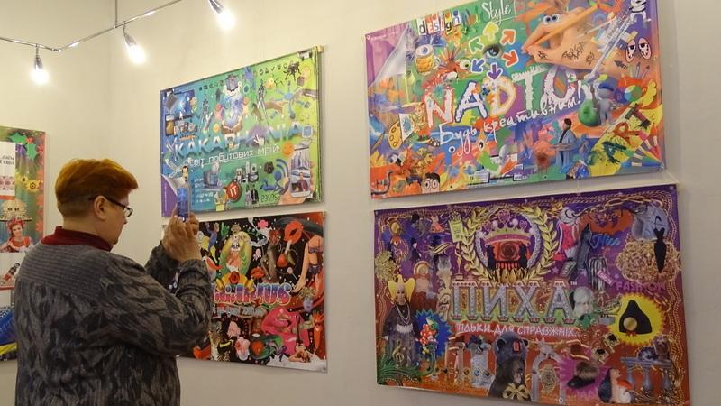 Банери херсонського дизайнера презентували в обласному музеї