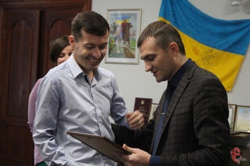 У 2016 -му після Парампіади Володимир Антонюк приймав вітання від міської влади