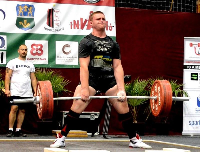 Іван Воронюк у вазі понад 120 кілограмів став чемпіоном України.