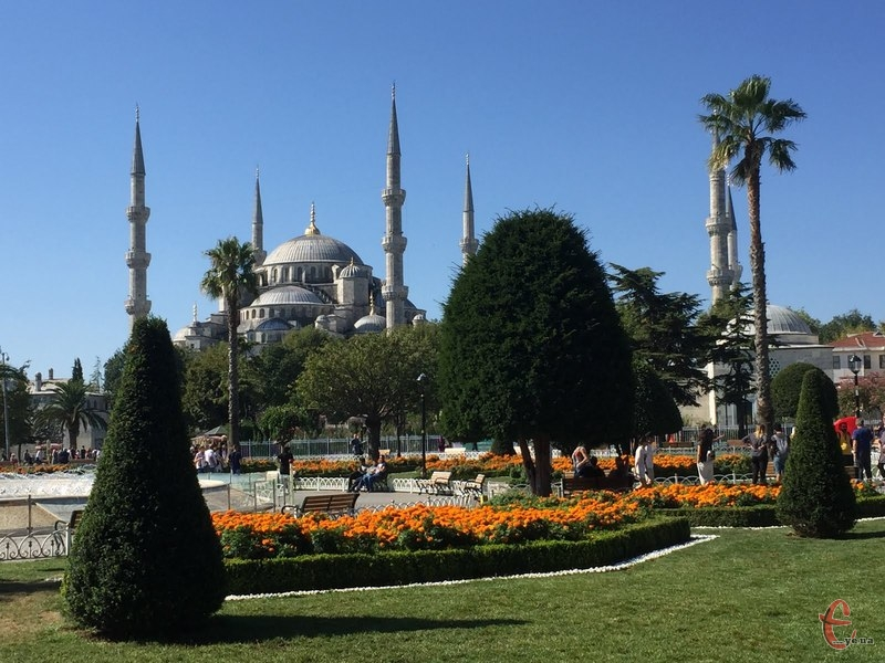 Мечеть Сулейманіє в Стамбулі