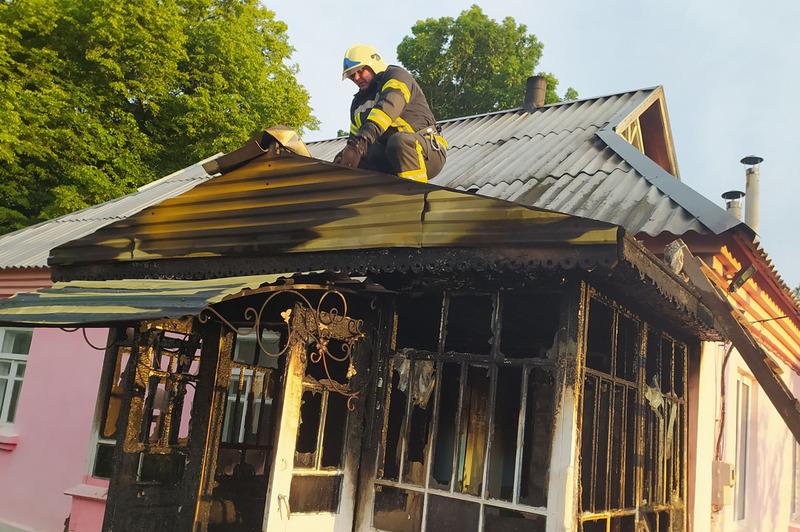 На пожежі люди не постраждали