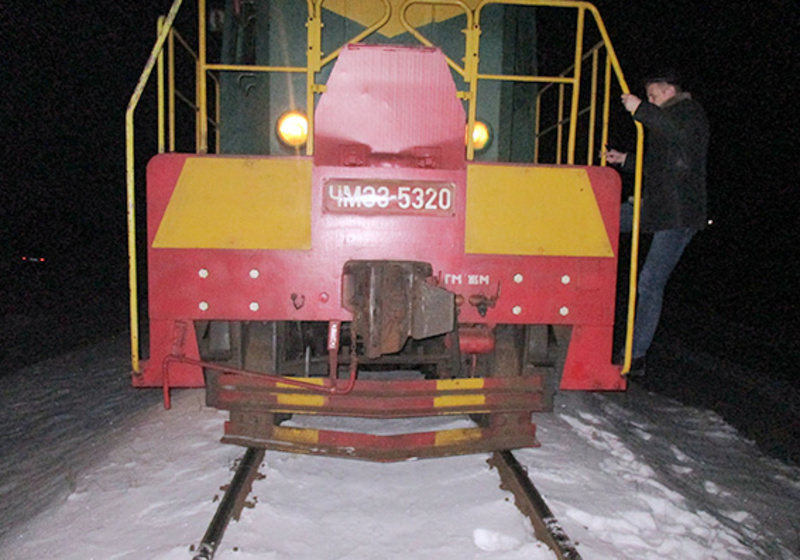 Поїзд наїхав на чоловіка