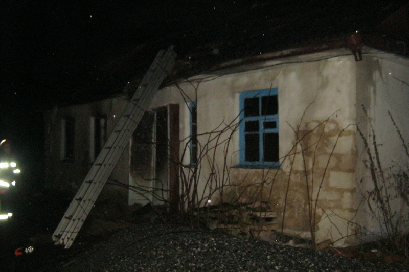 Під час пожежі ніхто не постраждав.