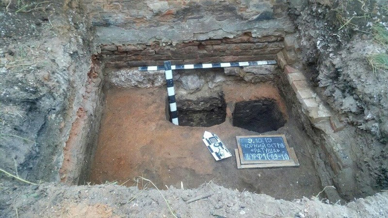 Зараз археологи досліджують шар 17-18 століття