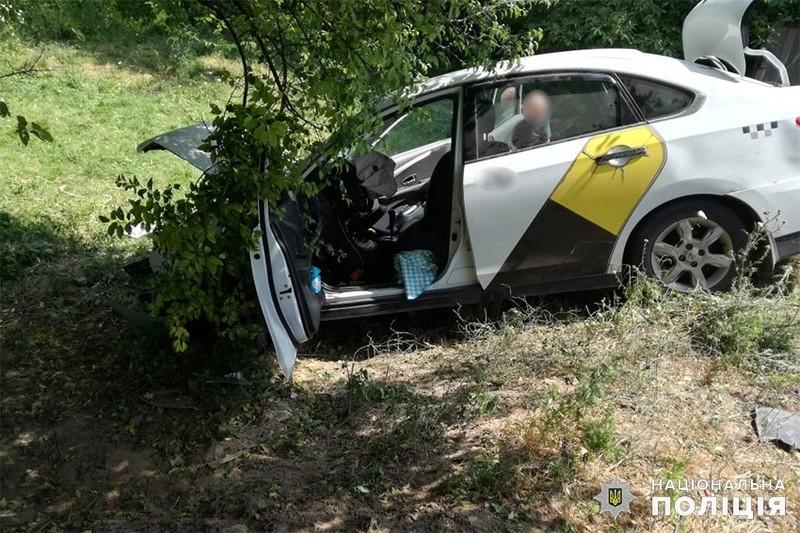 Аварія сталася у селі Івахнівці Чемеровецького району