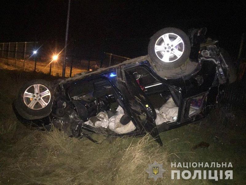 Аварія сталася в Полтавській області