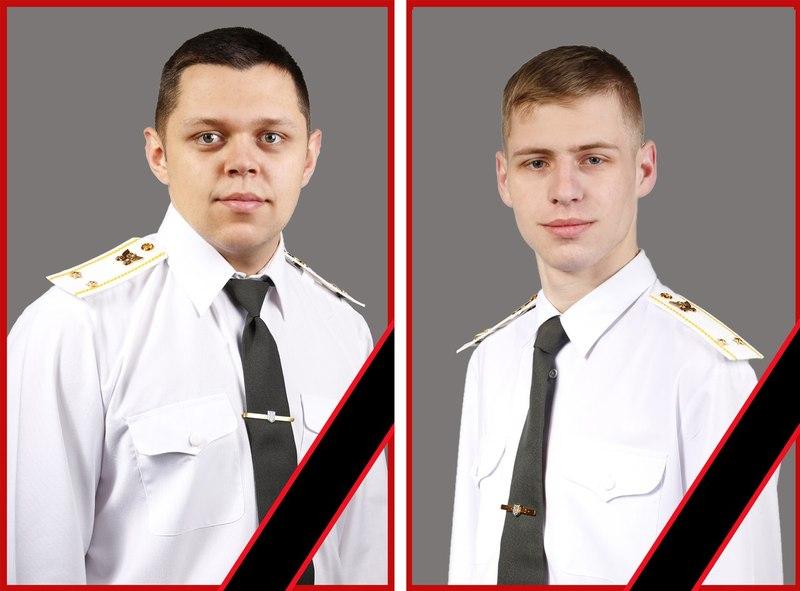 В'ячеслав (ліворуч) і Олександр загинули в аварії