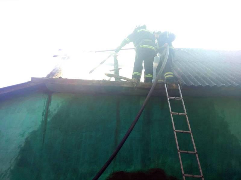 Рятувальники ліквідували пожежу в житловому будинку