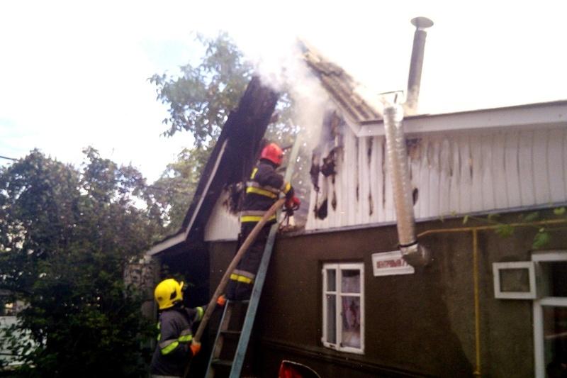 Пожежа сталася у селі Великий Жванчик