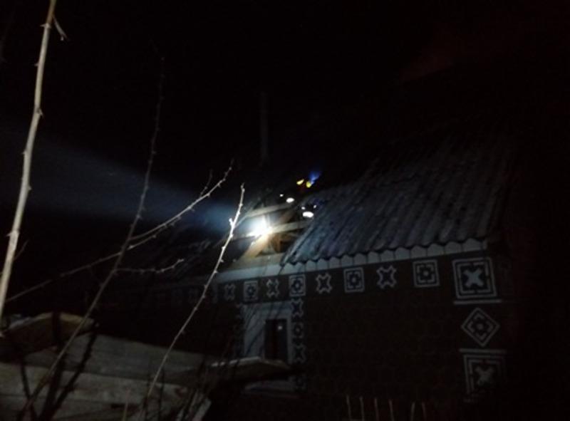 У Дунаєвецькому районі горів житловий будинок