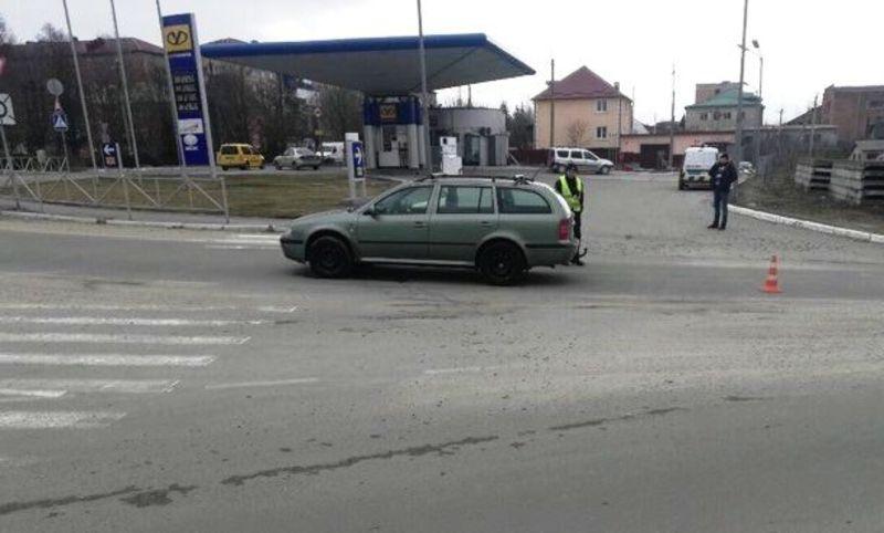 Аварія сталася на вулиці Тичини