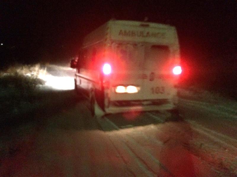 Із снігового замету рятувальники витягли