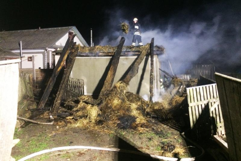 Причину загоряння будинку у Городоцькому районі з'ясовують