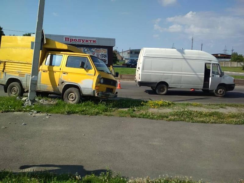 ДТП сталася на вулиці Пілотській