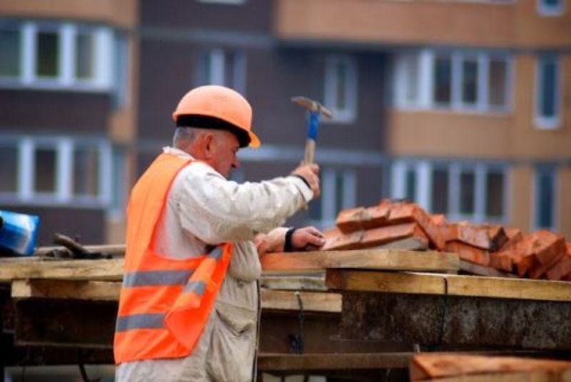 Зменшилась кількість будівельних робіт