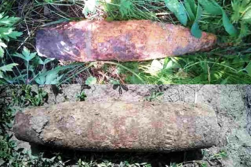 Обидва снаряди виявили під час земляних робіт