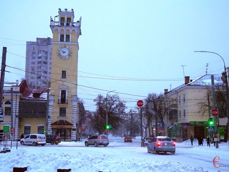 У Хмельницький повернулася сніжна зима