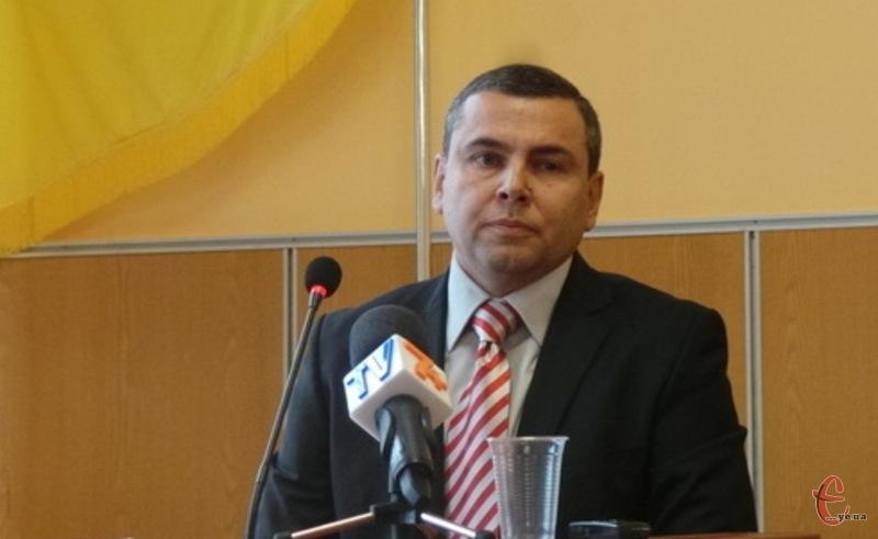 Юрій Мельник, новий голова Хмельницької районної ради