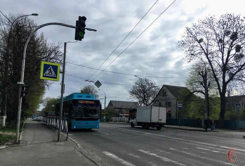 Рух тролейбусів у мікрорайон Дубове буде тимчасово призупинено