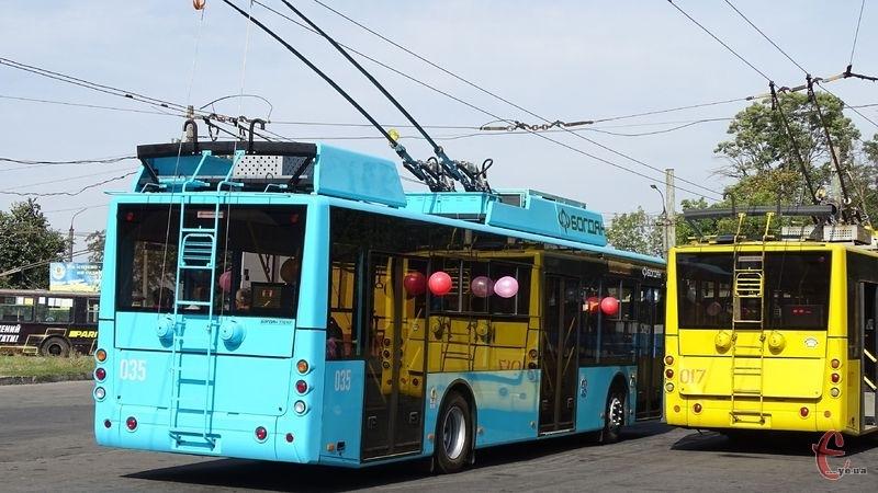 Тролейбуси у мікрорайон Гречани не будуть ходити деякий час