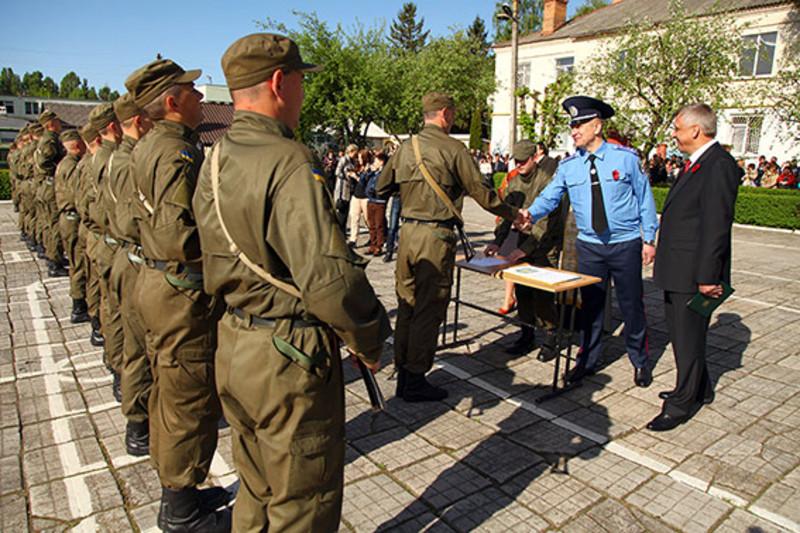 Присягу в День Перемоги прийняли 48 нацгвардійців