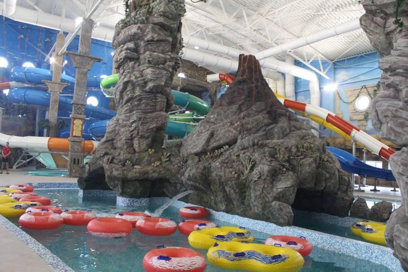 За словами власника закладу, це найбільший аквапарк у Східній Європі