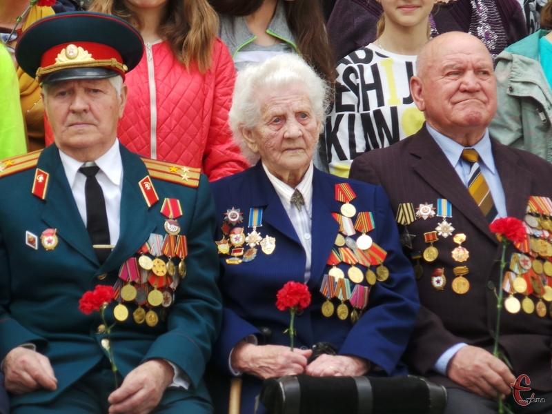 У Хмельницькому вшанували пам'ять ветеранів війни.