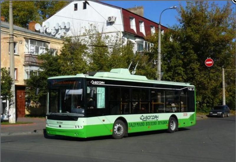 Тролейбуси за маршрутами №3, 7, 7а, 9 курсуватимуть лише до автостанції №2
