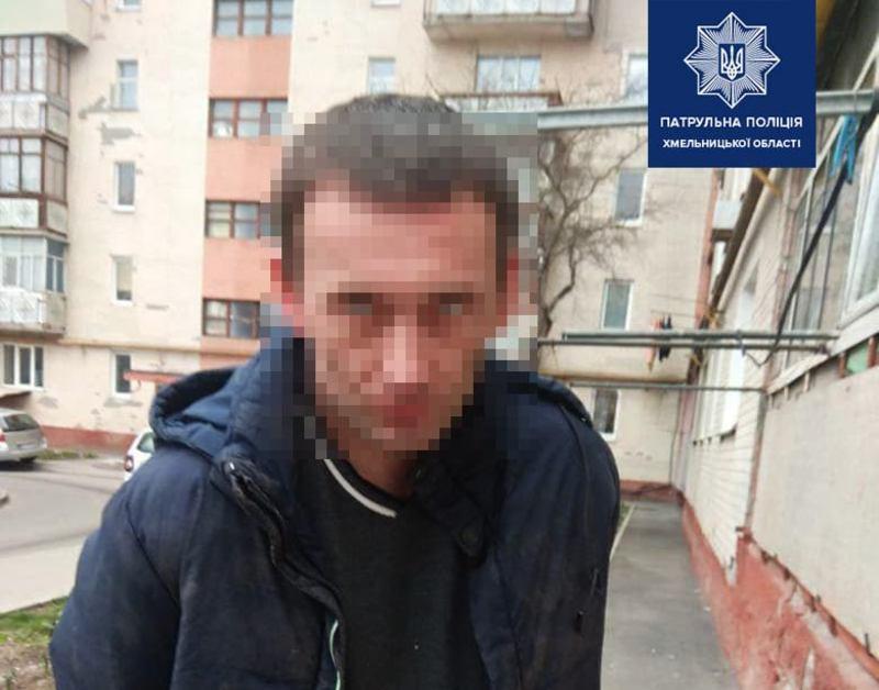Правоохоронці затримали чоловіка, який спричинив ножове поранення 28-річній хмельничанці