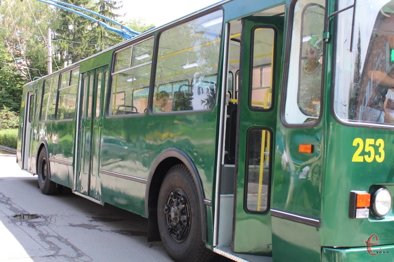 9 та 10 червня тролейбуси не їздитимуть на Озерну