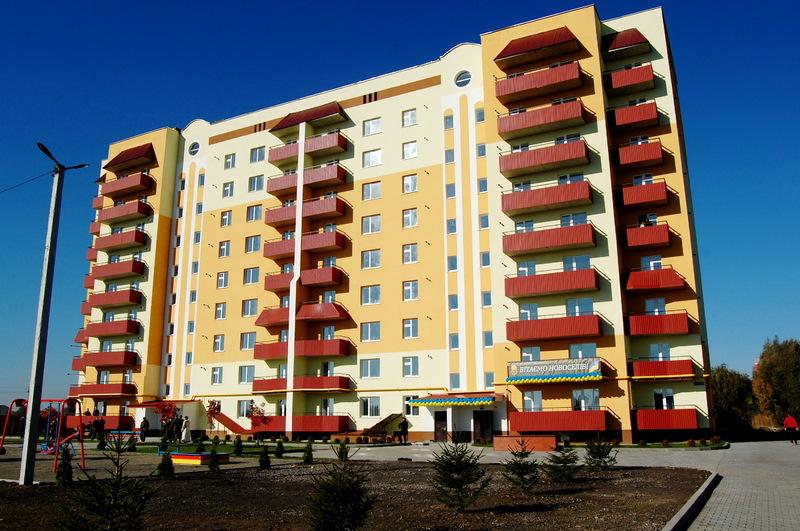 У Хмельницькому кілька років тому для нацгвардійців вже було зведено будинок на 90 квартир