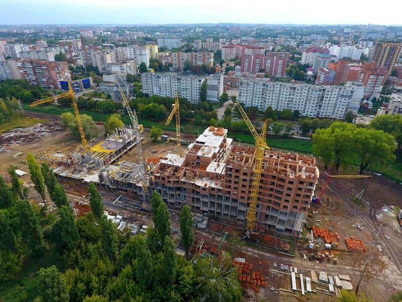 Ділянка, на якій будується «Sportcity», стала землею житлової та громадської забудови