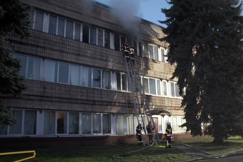 Пожежа сталася вранці на вулиці Тернопільській