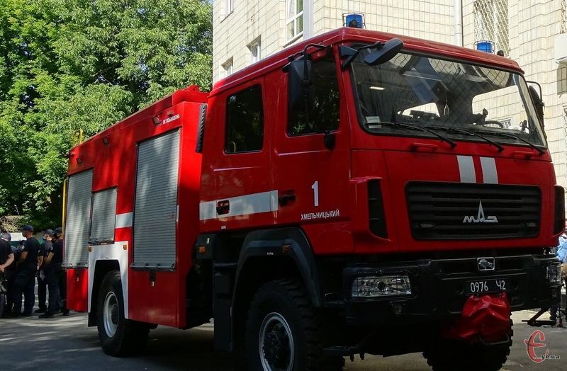Цього року, порівняно з 2019-им, на Хмельниччині зафіксували на 13,7% більше пожеж
