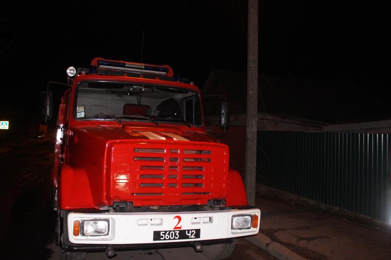 Пожежа сталася на Заводській