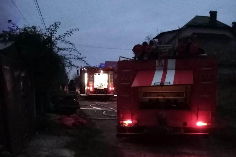 Вогнеборці завадили поширенню полум'я на решту приміщень житлового будинку