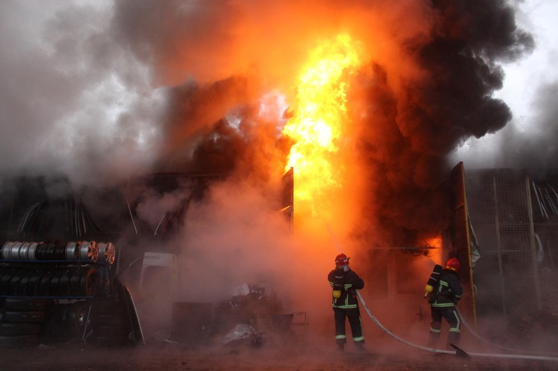 На шастя, на пожежі ніхто не постраждав