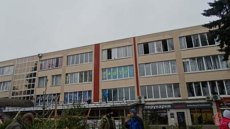 Пожежа сталася на четвертому поверсі будівлі