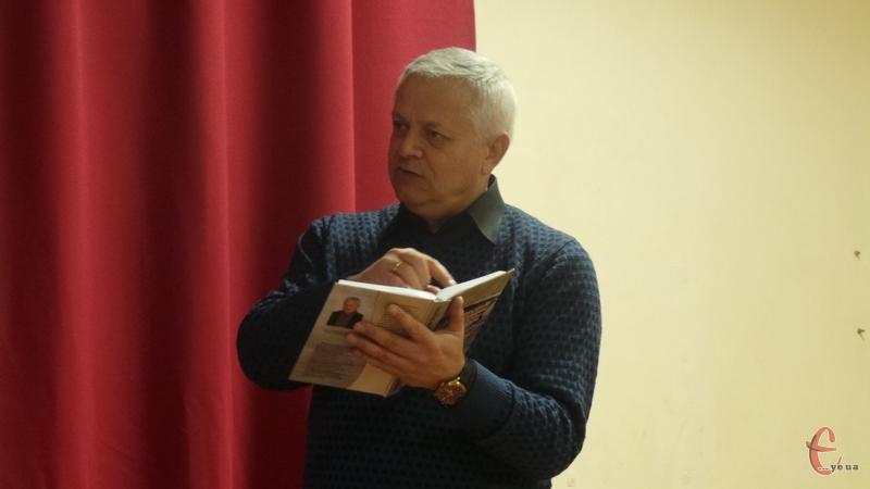 Богдан Теленько розповів про свою роботу з архівами